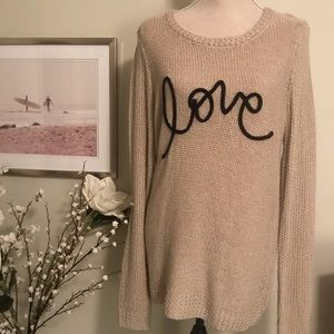 LC Lauren Conrad Sweaters - Lauren Conrad Knit Sweater, Size Medium